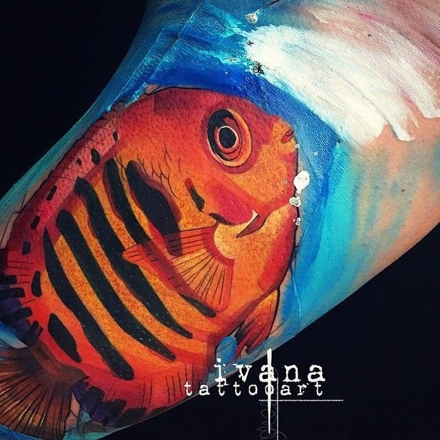 Tattoo Artist: Ivana Belakova