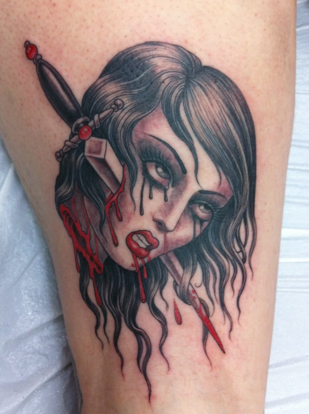 Tattoo by Chris Garver