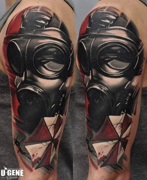 Abstract Tattoo by Redberry Tattoo