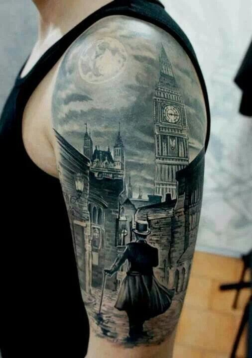 This famous half sleeve by Pavel Roch...