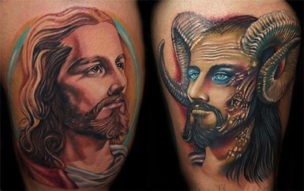 10 Funny, Silly & Ridiculous Jesus Tattoos