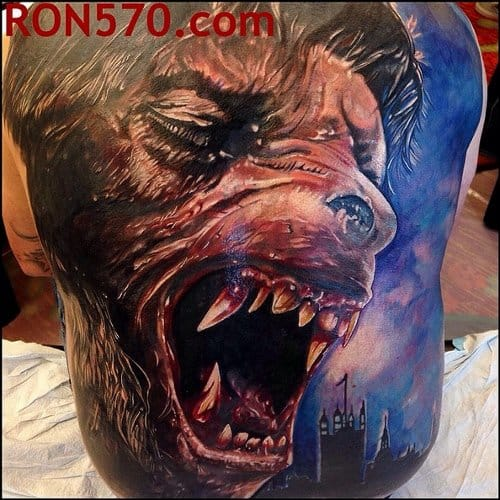 Bloody Tattoo by Ron570