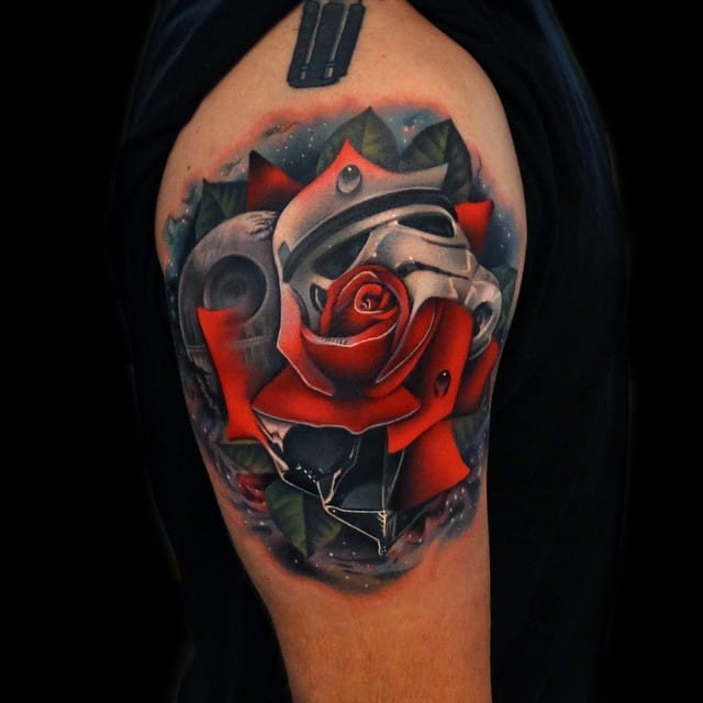 Star Wars Tattoo by Andrés Acosta