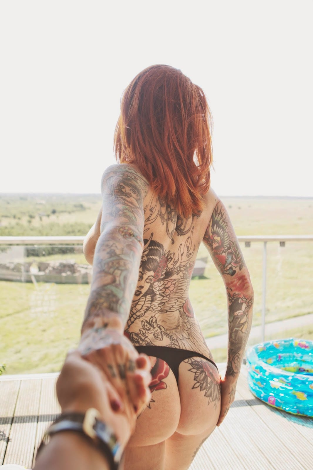 Another tattooed #followmeto couple photography for your inspiration... Show us yours!  Credit: Kenneth Nguyen.