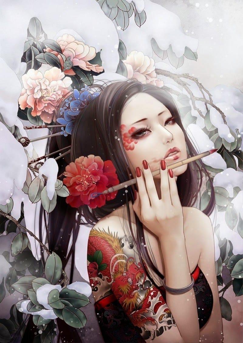 Tattooed Art Of Zhang Xiao Bai