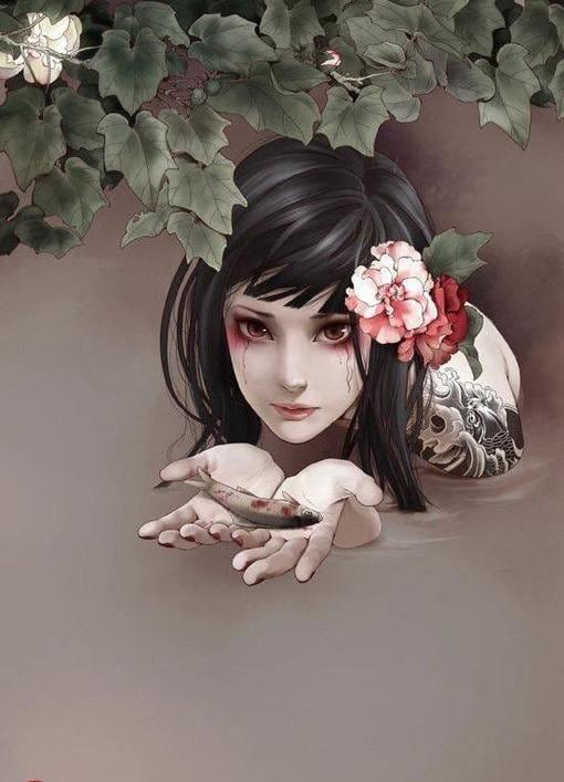 Tattooed art