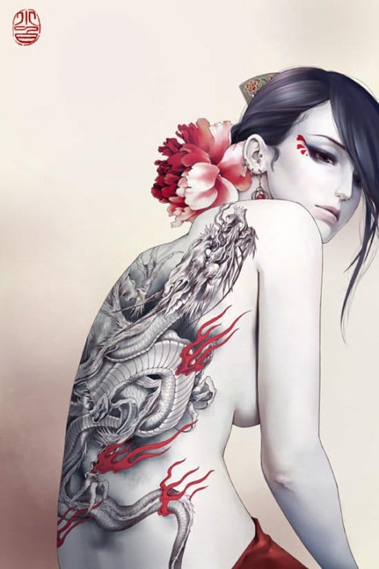 Fantastic backpiece and art...