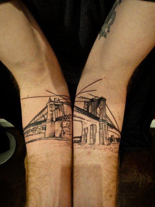 15 Artistic Bridge Tattoos
