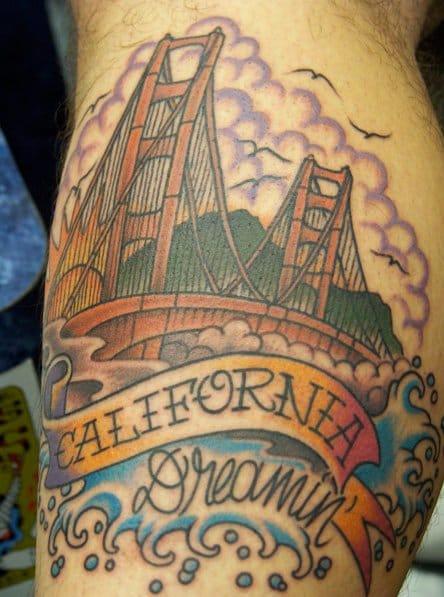 Golden Gate Bridge by Aloha Monkey Tattoo