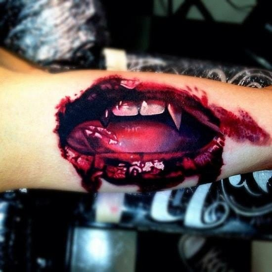 25 Deliciously Bloody Tattoos (Part 2)