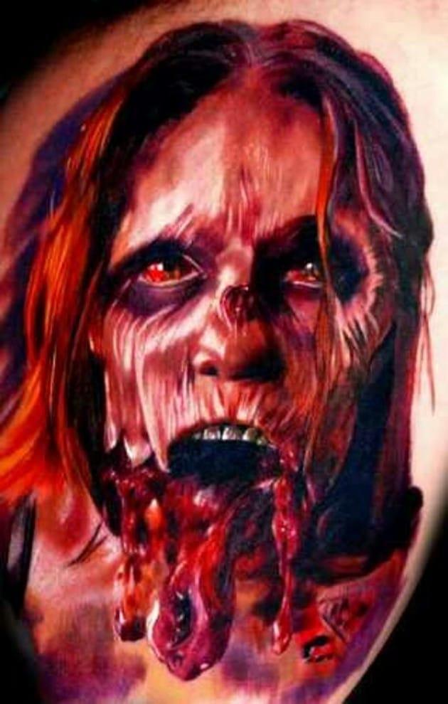 Bloody Tattoo