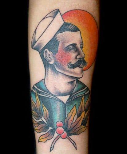 Beautiful tattoo, Artist unknown