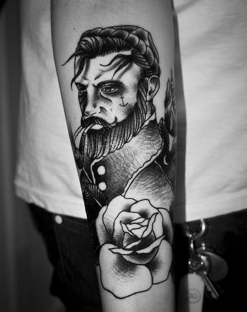 Awesome black and grey, artist unknown