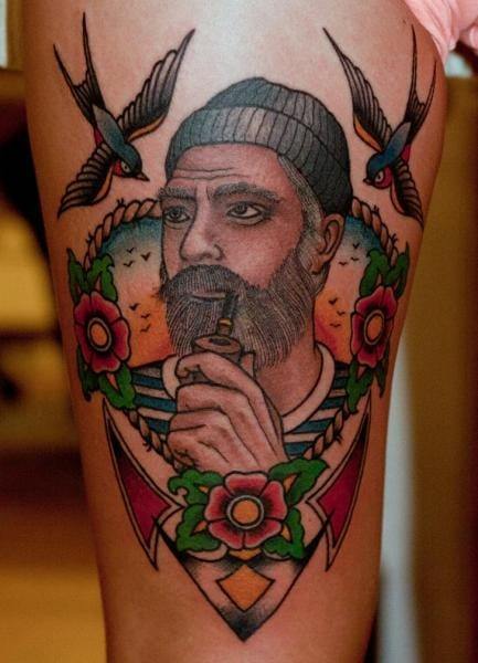 Mariner Tattoo by The Sailors Grave