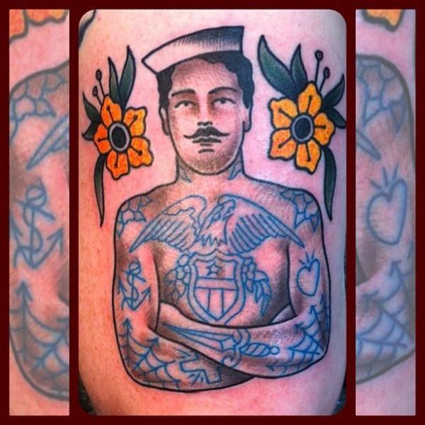 Tattooed Mariner Tattoo by Forever True Tattoo