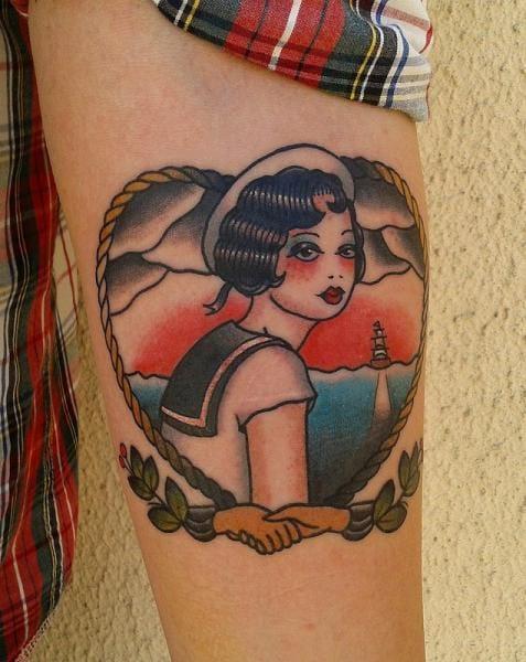 Bold Tattoo by Zoi Tattoo