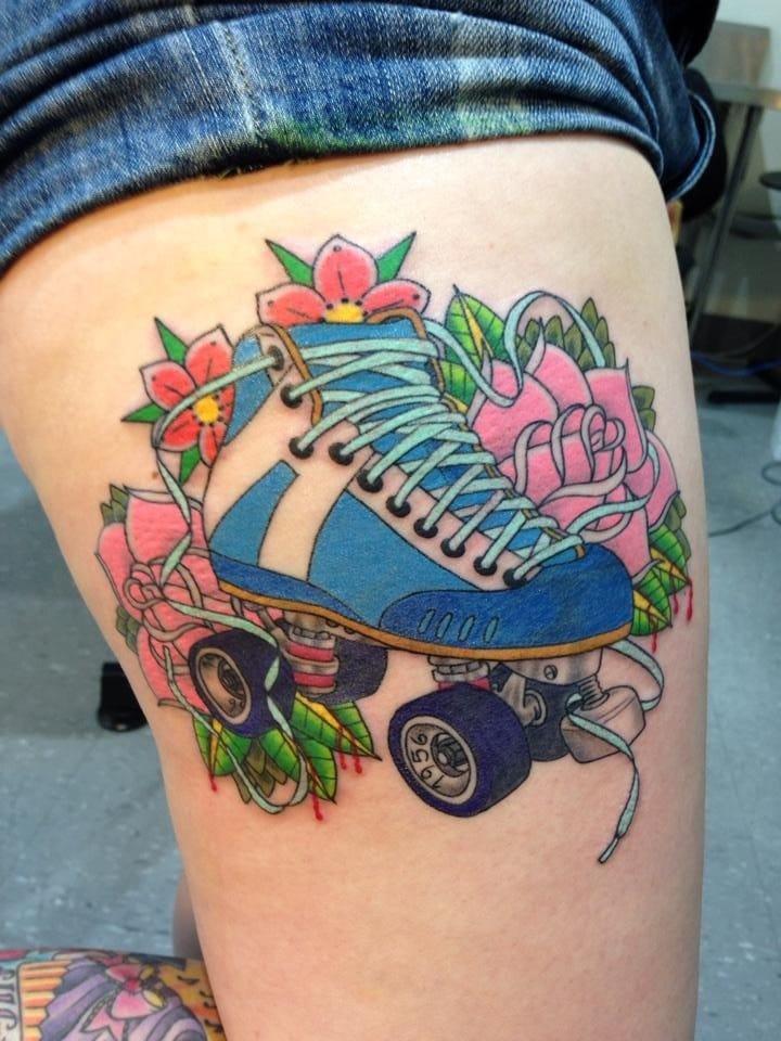 Skate tattoo