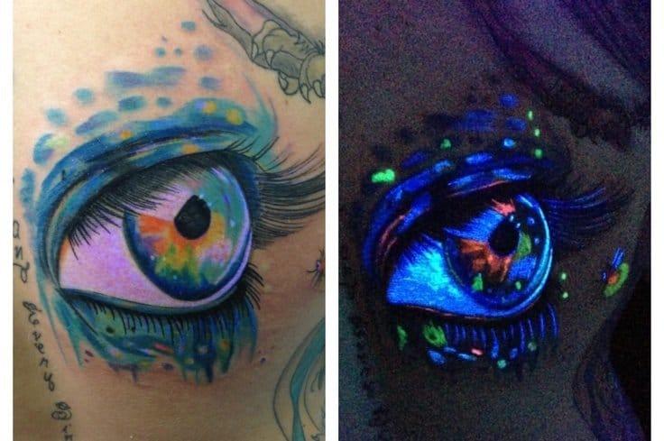 Amazing UV Ink Tattoo