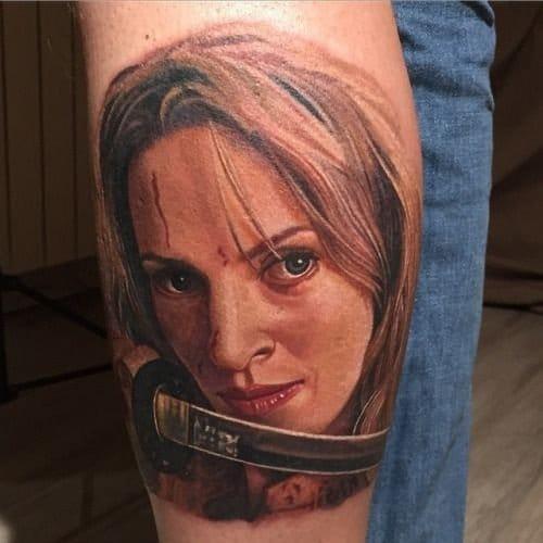 Tattoos Inspired By Action Movies. Kill Bill tattoo