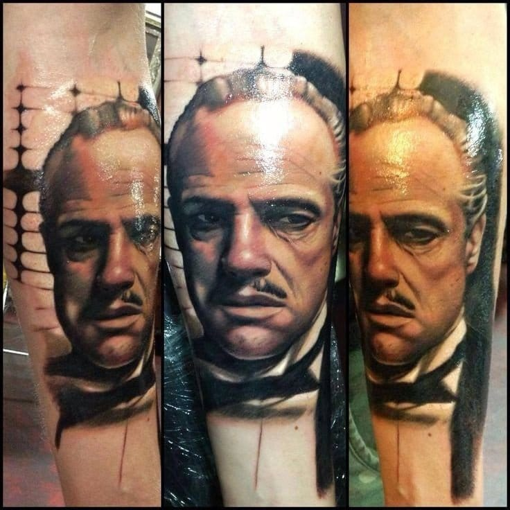 The Godfather inspired tattoo