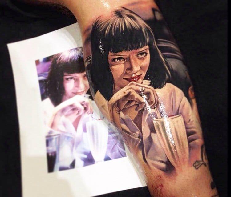Tattoo by Benjamin Laukis