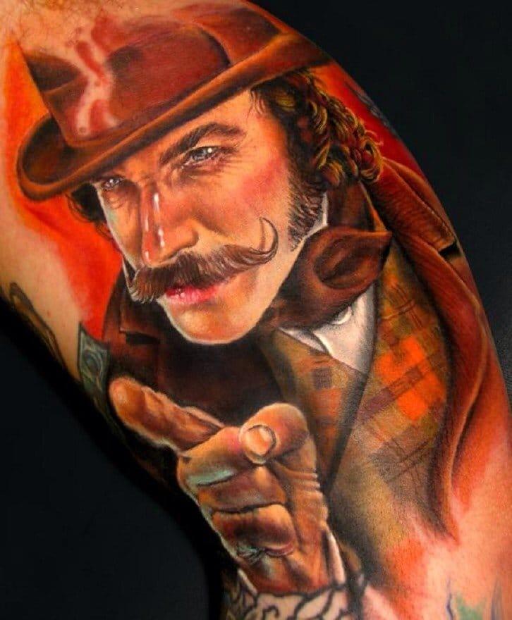 Gangs of New York inspired tattoo