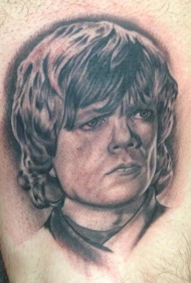 Tyrion Lannister (Peter Dinklage), done by Chad Roloson, Corning NY, USA