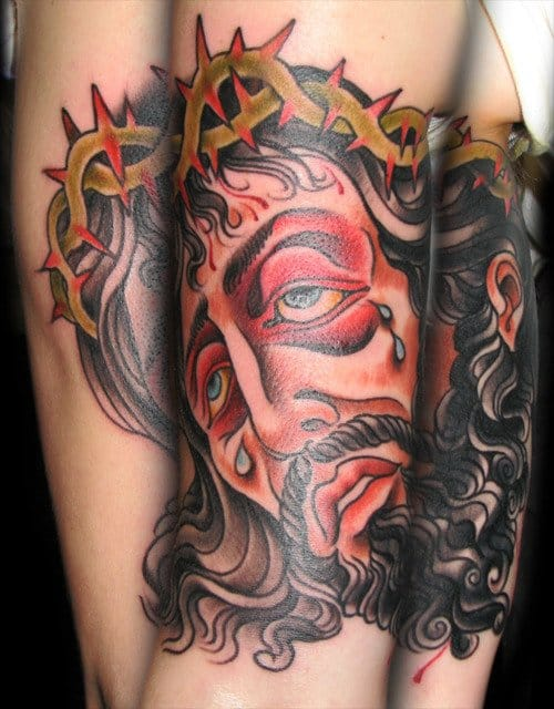 Bold work by Last Sparrow Tattoo