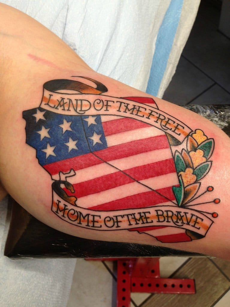 Love America? Then Check These 50 Tattoos For 50 States