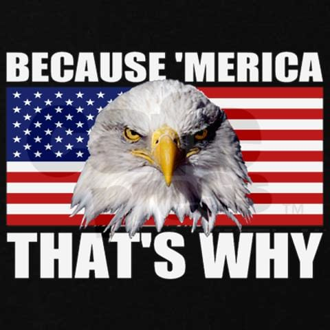 Because America - That's why