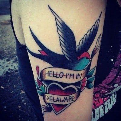 Dalaware state tattoo