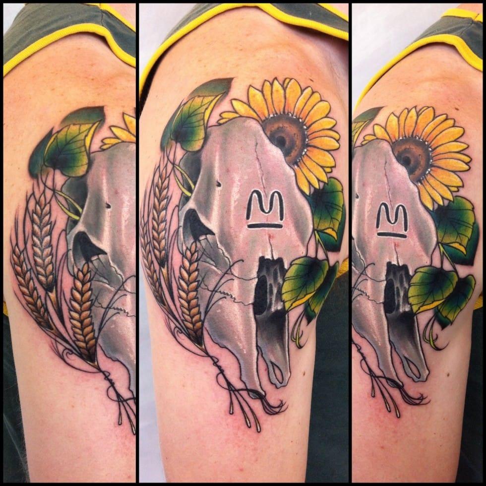 Kansas state tattoo