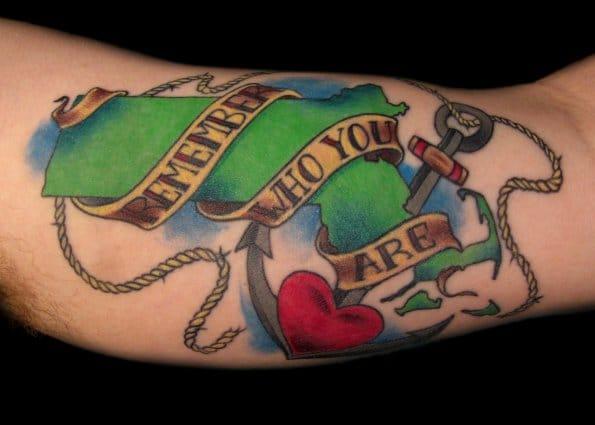 Massachusetts tattoo