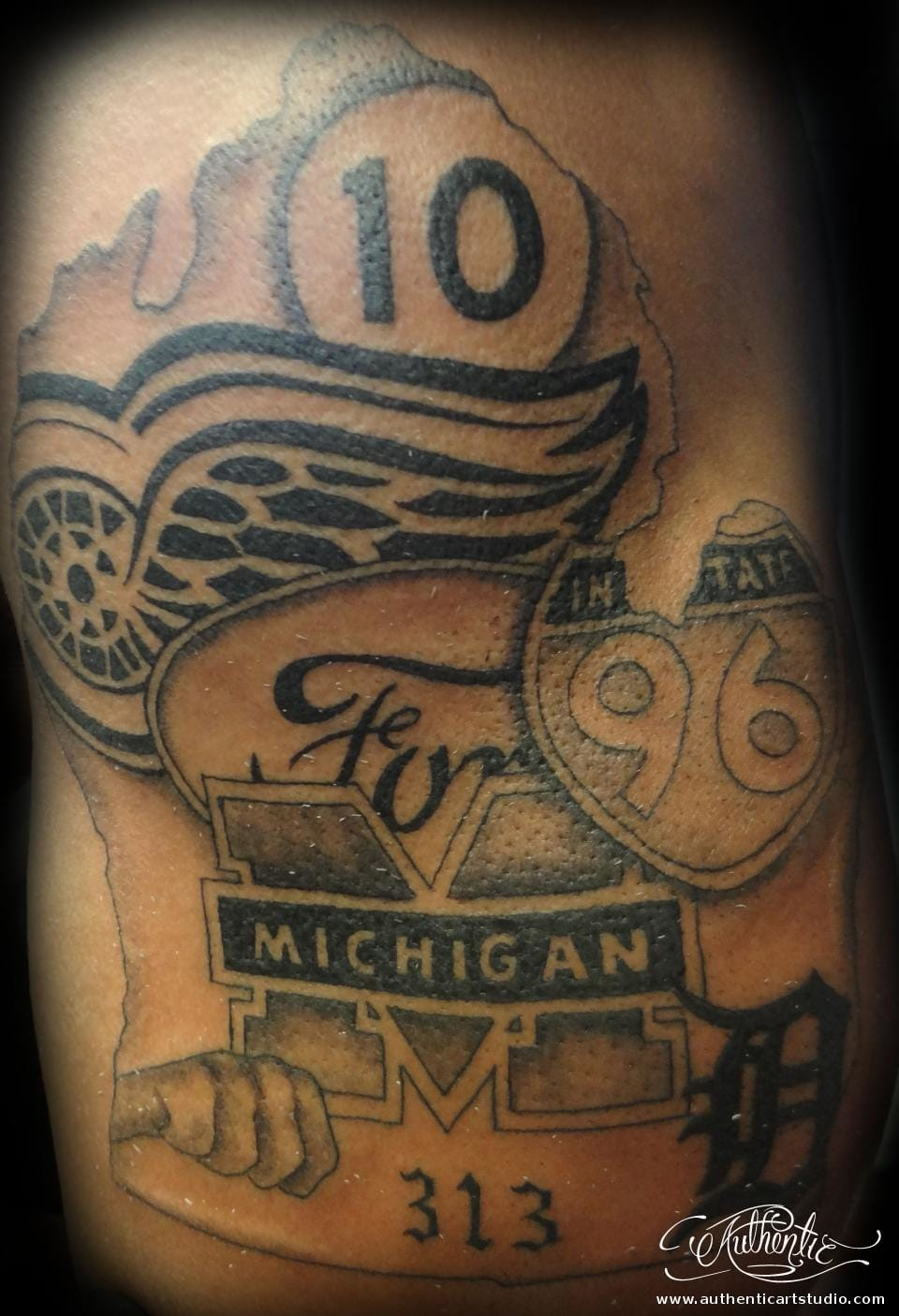 Michigan tattoo