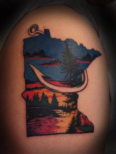 Minnesota state tattoo