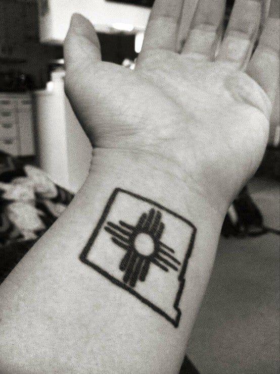 New Mexico tattoo