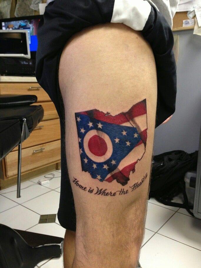 Ohio tattoo