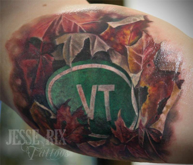 Vermont tattoo