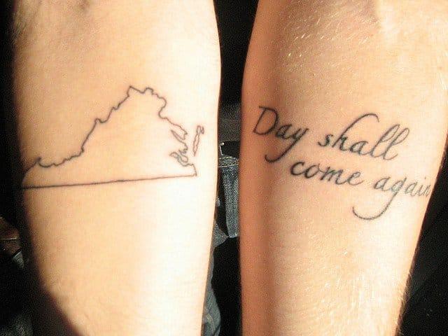 Virginia tattoo