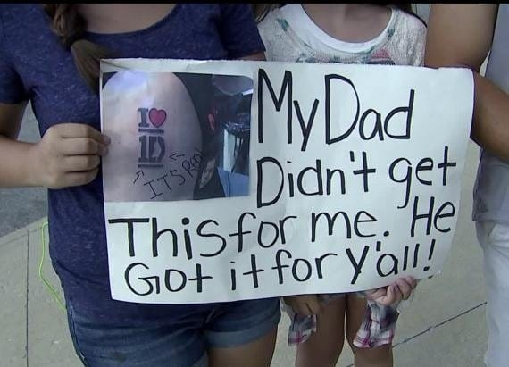 This Dad Super Failed With His One Direction Tattoo For His Daughters