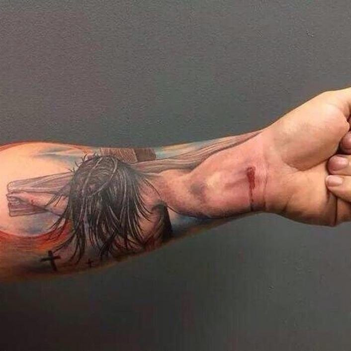 Unbelievable 3D Arm Extension Tattoos