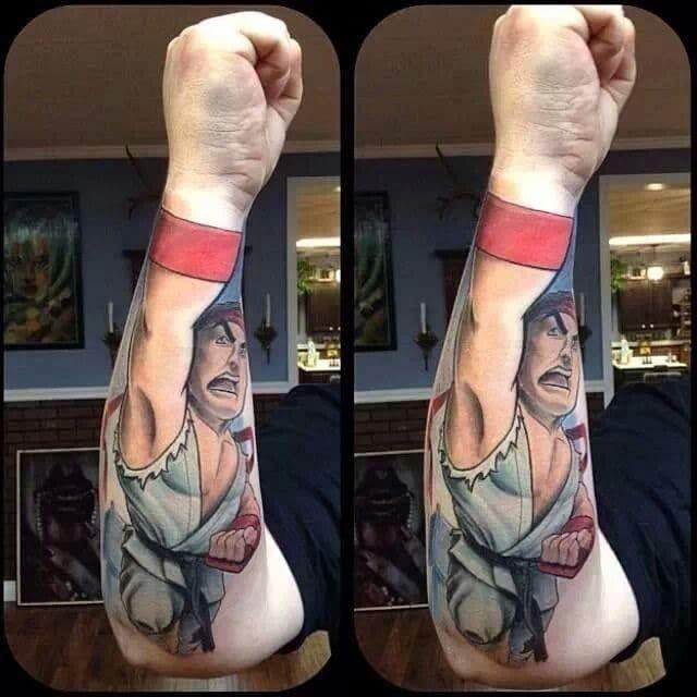 Power punch tattoo