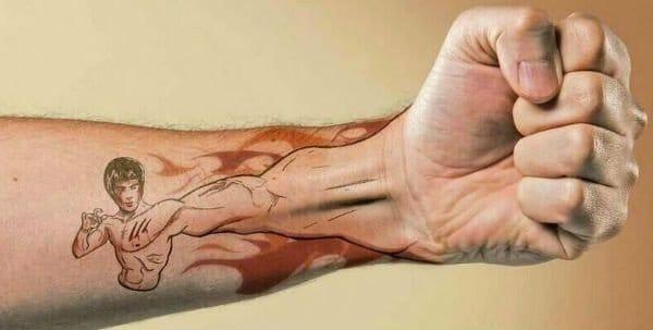 Arm Extension Tattoo