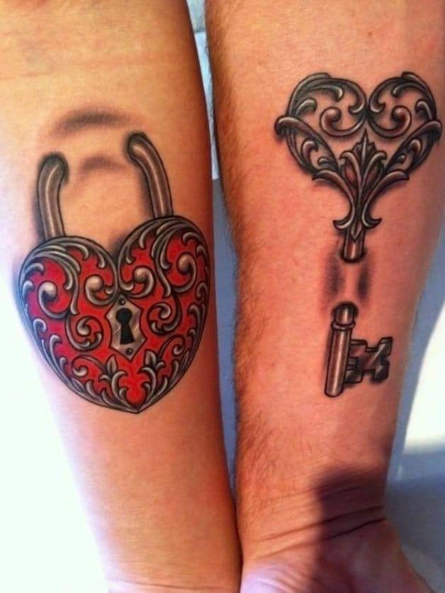 Lock & Key Tattoo