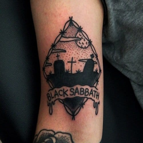 BLACK SABBATH (Tattoo Artist: Philip Yarnell)
