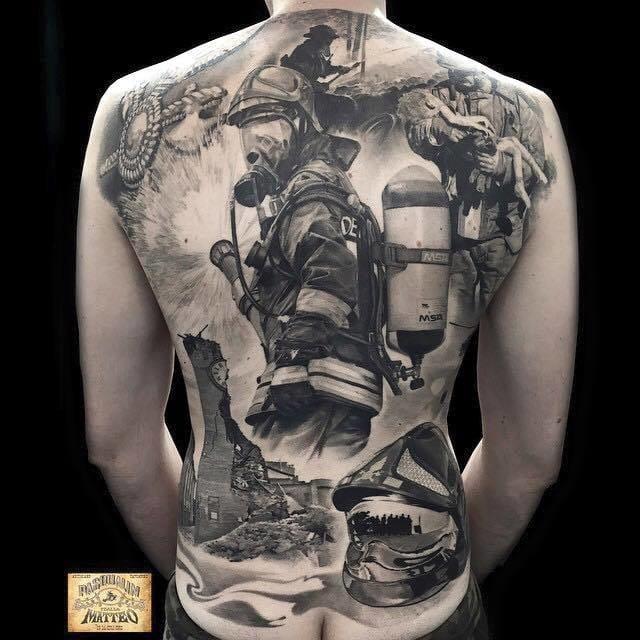 Bombeiros: 15 Tatuagens Para Te Salvar de Qualquer Perigo