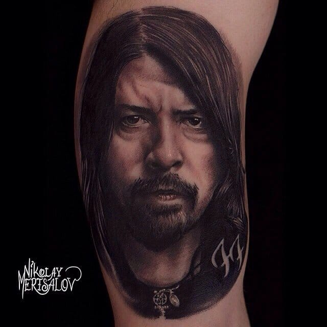 Tattoo by Nikolay Mertsalov