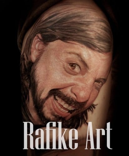 Dave Grohl by Rafike Art