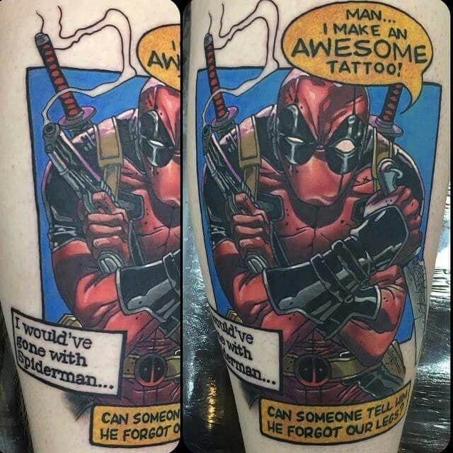 Watch The DeadPool 2015 Trailer & Check Out These Awesome Tattoos