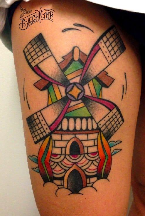 Fantasy windmill by Bigghy Gee